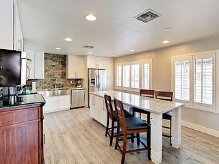 4BR Old Town Remodel w/ Private Pool, Lush Backyard & Fire Pit