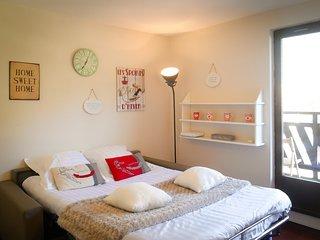 Studio Le Refuge du Sapi Chamonix-Centre emplacement exceptionnel