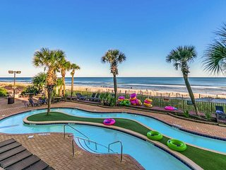 BEST DEAL*DIRECT OCEANFRONT*1 BEDROOM*GROUND FLOOR*STEPS TO BEACH * COMPASS COVE