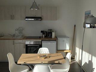 Studio confortable et spacieux avec jardin