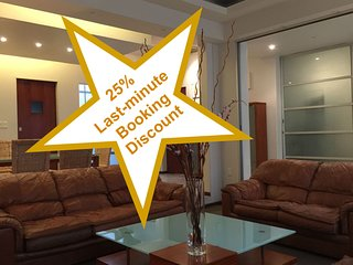 Spacious 6BR house, families & work groups, 25% last-minute-booking discount