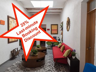 4-Suite house within urban retreat (+2 opt.), 25% last-minute-booking discount