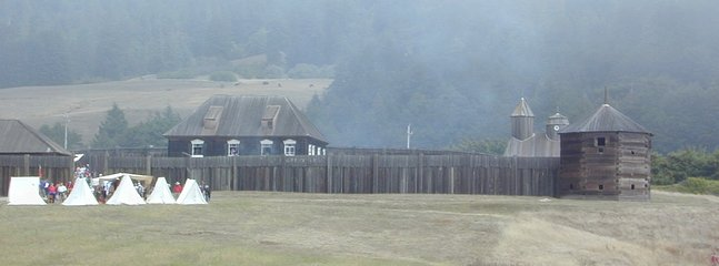 Fort Ross - most southern Russian settlement