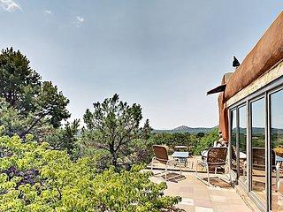 Pueblo-Style 2BR w/ Terrace & Gazebo - Mountain View & Nearby Hiking Trails