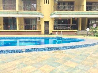 Dream Jade Apartment 2Bhk Pool Facing Near Baga Beach