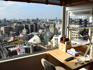 103 / 5 mins from Shibuya Station!/WIFI/Great View from room!!