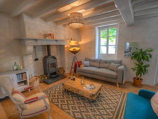 Boutique holiday cottage by the river Saison