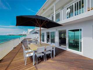 Serenity Now - Beach Front Villa at West Bay - Book Now