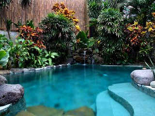 Stunning tropical oasis in great location