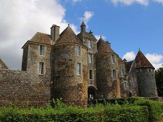 Château de Ratilly à  600 m concert week-end , visite , expo art et poteries