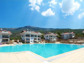 As you can see a AMAZING size swimming pool for you to take a  swim or watch the paragliders.