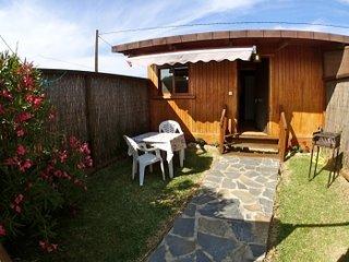 casa de madera junto al mar