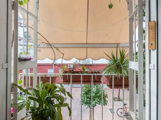 El balcón del salón