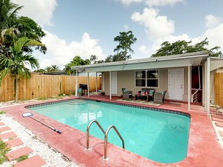 NEW LISTING! Charming home in Hollywood w/private pool close to Hollywood beach
