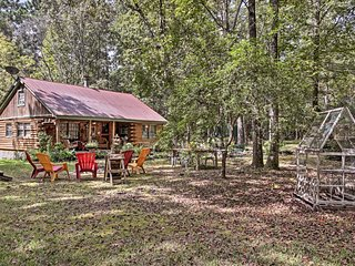 Sitting on 3 wooded acres, this home offers lots of outdoor space!