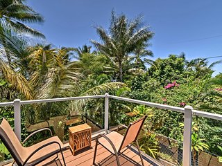 NEW! Pahoa Apartment w/ Ocean Views from Lanai!