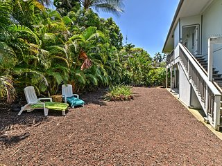 NEW! Airy Pahoa Apt w/Yard in Kalapana Shores!