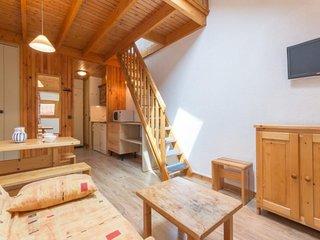 Joli studio mezzanine au coeur de Montchavin