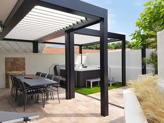 Typique et magnifique maison arcachonnaise avec spa
