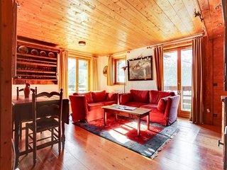 Chaleureux appartement 5 pièces sur les pistes avec grande terrasse sud