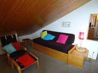 Appartement 2 pièces 5 personnes à Vallandry en centre station et proche des pis