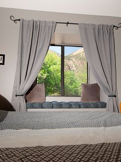 The Wildlife bedroom. What a view to wake up to.