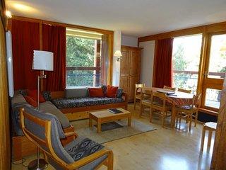 Appartement 3 pièces pour 6 personnes à Arc 1800 au pied des commerces et proche