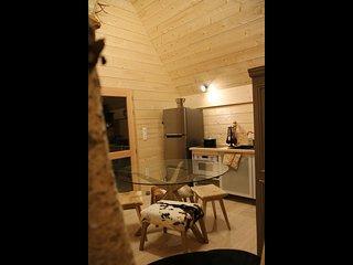 Cabane d'Emile a Ecolodge Beauregard
