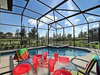Gorgeous brand new 5 BR pool home close to the Solterra Clubhouse.