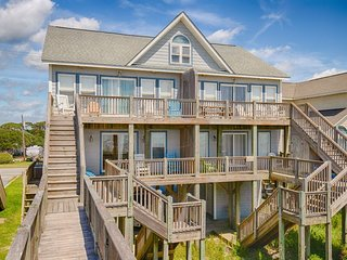 Island Drive 3984 Oceanfront! | Internet, Jacuzzi, Wedding Friendly