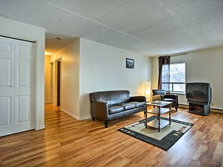 NEW! Lakefront Apartment in Blind River w/ Balcony