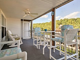 NEW! Lake Ozark Waterfront Condo w/ Boat Slip!