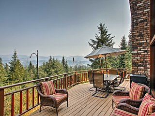 NEW! Idaho Mtn Retreat w/Large Deck & Playground!
