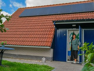4 pers. holiday home with solarium, close to the National Park Lauwersmeer