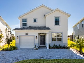 This 5 bedroom home is ideal for a family vacation to Disney
