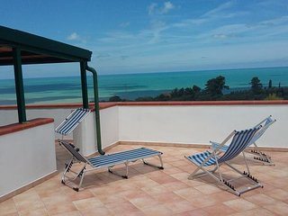 Apartment in Parco del Gargano with scenic sea view