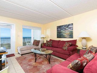 Seville 402 - 2Bd/2Ba Beachfront Condo w/ Stellar Ocean Views from Private