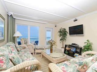 Edgewater 403 - 2Bd/2Ba Oceanfront Condo, Panoramic Ocean Views from Private