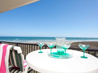 Saida I 404 - 2Bd/2Ba Beachfront Condo with Million Dollar Private Balcony View!