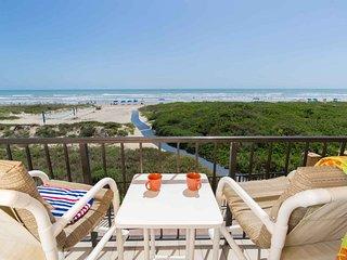 Suntide II 206 - Condo w/ Private Balcony, Beachfront Pool & Spa, Sun Deck