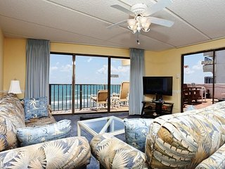 Florence II 502 - Beachfront Condo, Private Balcony with Hot Tub, Direct Ocean