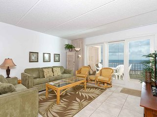 Beach House I 502 - 2Bd/2Ba Condo with Panoramic Ocean Views from Private