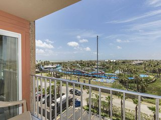 Gulfview II 611- One Bedroom Condo, Top Floor, Private Balcony Views of the