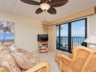 Florence II 403 - Spacious 3Bd/3Ba Oceanfront Condo, Private Balcony, Direct