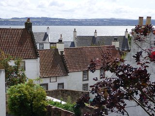 Cottage in the historic 'Outlander' village of Culross Fife Scotland -