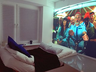Modern cinema bedroom in the Old Town