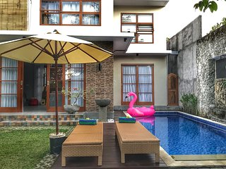 Pepper House Jimbaran, 2 BR Villa in a quite area, near GWK and Jimbaran Corner