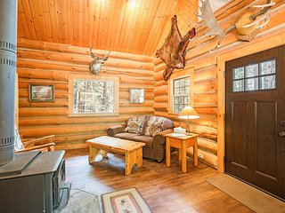 NEW: Wrangler Log Cabin at Western Pleasure Guest Ranch