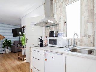 Green-Apartments San Francisco: Atico Studio