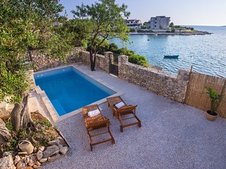 Beach Villa with pool - Kanica, Rogoznica Croatia